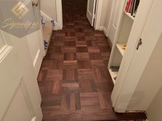 This floor we recently made, installed and finished. It has such a warm tone to it with a classic look!