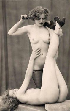 Sensual lesbian nude the