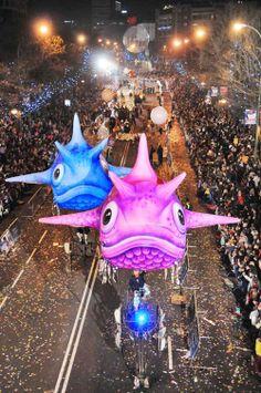 Nunca has visto una Cabalgata de Reyes como la de Madrid.