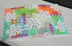 PaperArtsy: 2015 #12 Sketchbook {by Anneke De Clerck}