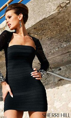 Black bandage dress  www.myannika.com for amazing and affordable bandage dresses