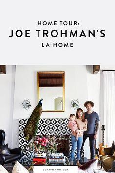 Tour Fall Out Boy's Joe Trohman's LA home
