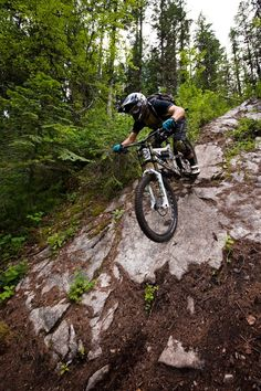 rolling in the steeps - Mike Kinrade at Shannons Flat in Nelson, British Columbia, Canada - photo by TransitionBikeCompany - Pinkbike Mtb Downhill, Mountain Bike Downhill, All Mountain Bike, Bmx, Bike Mtb, Road Bike, Cycling Art, Cycling Bikes, Cycling Quotes