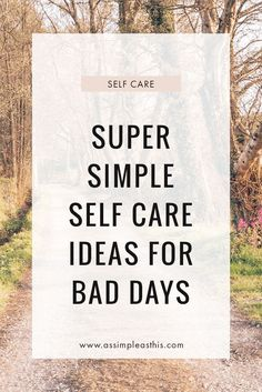 19 EASY SELF CARE IDEAS FOR DAYS WHEN DEPRESSION REARS ITS UGLY HEAD Recovering From Depression, Living With Depression, Mental Health Resources, Mental Health Day, Health Anxiety, Stress And Anxiety, Depression Recovery, Yoga At Home, Self Compassion