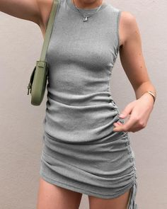 Our fave 'Military Minds Mini Dress' is back babes! 🔥TAG your gals to let them know! 💕 now and style it with our new 'En Blanc… Looks Street Style, Looks Style, Look Fashion, Fashion Outfits, Womens Fashion, Steampunk Fashion, Gothic Fashion, Cute Casual Outfits, Summer Outfits