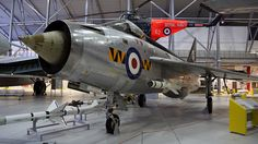 RAF English Electric Lightning #flickr #plane #1960s