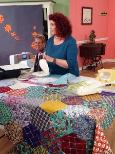 My Whimsical Quilt Garden Pattern by Becky Goldsmith and Linda ... : quilting tv shows - Adamdwight.com