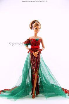 Kebaya Indonesia on Barbie Part 2 For more pics... Barbie I d46b3f23dd
