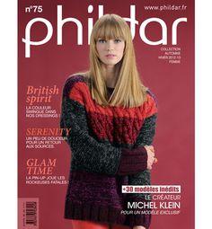 Catalogue Automne-Hiver femme n°75 - Catalogues tricot femme - Phildar