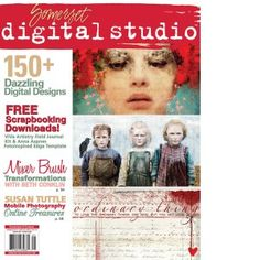 I designed this issue of Somerset Digital Studio Spring 2014 as he lead graphic designer. You can also find my artwork on the first page :)