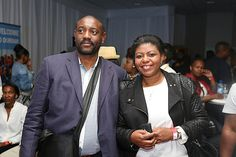 Buyi Ngcobo and Khetho Makhubu at the 10th TOPS at SPAR Soweto Wine and Lifestyle Festival.