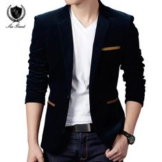Agora disponível em nossa loja: Blazer Masculino ... Confira aqui! http://alphaimports.com.br/products/blazer-masculino-britanicos-estilo-casual-slim-fit-plus-tamanhos-4xl?utm_campaign=social_autopilot&utm_source=pin&utm_medium=pin