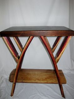 Wine Barrel Side Table - I like the more finished look now being offered by The ValleyBarrel -Solvang California