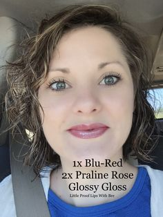 LipSense- Blu-Red, Praline Rose combo. Little Proof Lips With Bre. ID286568