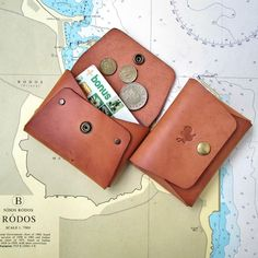ANIKI NOTEBOOKS FOUNTAIN PEN&INKS: Palm Wallet Just FINISHED