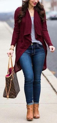 guide and tips for fall outfits Source by juvenil femenina moda bajitas Casual Work Outfits, Cute Fall Outfits, Stylish Outfits, Fashion Outfits, Womens Fashion, Fashion Trends, Classy Sexy Outfits, Mode Jeans, Looks Plus Size