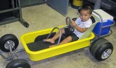 cool Custom Radio Flyer Wagon, Radio Flyer Wagons, Kids Wagon, Toy Wagon, Pedal Cars, Rc Cars, Pull Wagon, T Bucket, Power Wheels