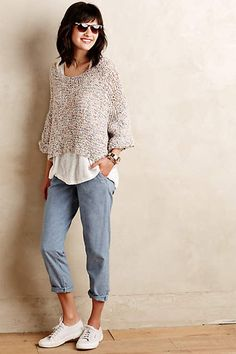 Cropped Confetti Top - #anthroregistry