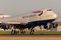 British Airways Boeing 747-400 G-BYGF by LHR Local, via Flickr