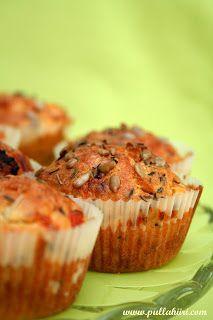 Pullahiiren leivontanurkka: Feta-tomaattimuffinssit