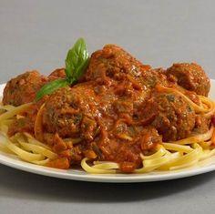 Olasz húsgombóc paradicsomszósszal Recept képpel - Mindmegette.hu - Receptek