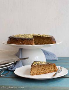 Spelt cake with chocolate