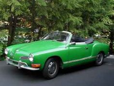 1971 VW Karmann Ghia: Yum!! LOVE this green, only thing better is if it was pink. My dream car...