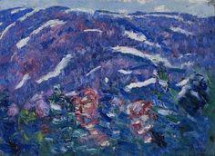 """""""Songs of Winter,"""" Marsden Hartley, ca. 1908, oil on academy board, 15 1/4 x 18 1/4"""", Weisman Art Museum."""