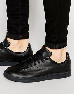 premium selection 5232f acf14 adidas Originals Stan Smith Leather Sneakers M20327 Mens Leather Trainers,  Leather Sneakers, Mens Sneakers