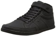 Boxfresh SWICH BSC WXD CNVS, Herren Hohe Sneakers, Schwarz (BLACK/BLACK), 42 EU - http://on-line-kaufen.de/boxfresh/42-eu-boxfresh-swich-bsc-wxd-cnvs-herren-hohe