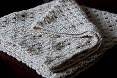 Baby blanket - Cascade stitch pattern
