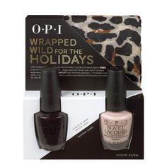 OPI Announces Three NEW Holiday Gift Sets: Wrapped Wild for the Holidays, Holiday Glam's in the Bag and Plaid About You