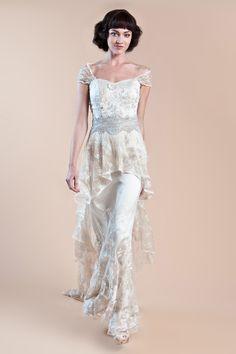 yummy edwardian style gown a la downton abbey
