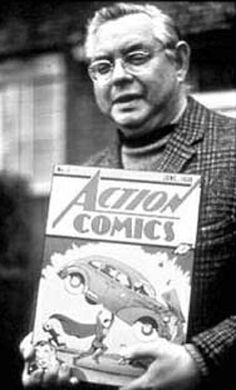 Joe Shuster - co-creator of #SUPERMAN - died on this daay in 1992!