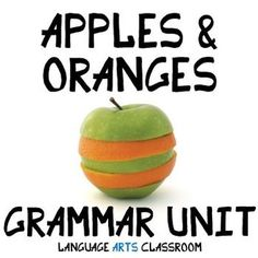 Reviewing similar grammar concepts with middle school and high school students is part of any grammar curriculum. This is a bundle of six popular grammar power points and activities in my store. It contains over 200 pages and slides of grammar lessons and activities.