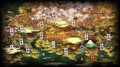 Muramasa Wolrd Map
