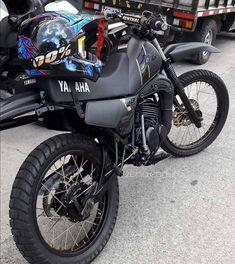 Dt Yamaha, Honda Scrambler, Suzuki Cafe Racer, Cafe Racer Bikes, Tracker Motorcycle, Moto Bike, Stunt Bike, Cafe Racing, Super Bikes