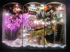 Ark's amazing festive window 2013