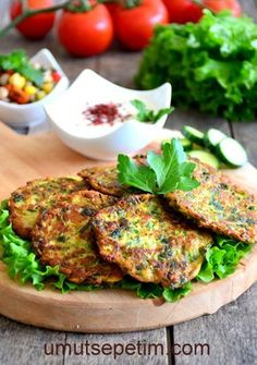 Zucchini Fritters (#Mücver - #κολοκυθοκεφτέδες) Turkish or Πολίτικο style...