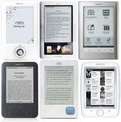 eBook Reader Comparisons