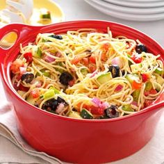 California Pasta Salad - I've made this salad for years and it's always a big hit at potlucks!