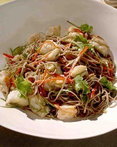 Lobster and Soba Noodle Salad Recipe
