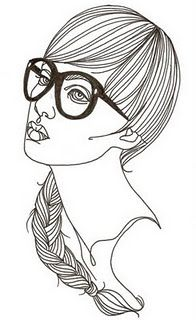 'Eu uso oculos' by Brazilian illustrator Fernanda Guedes