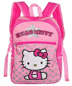 e795bdcf3c Backpack - Hello Kitty - Silver Star Perfect size backpack for your little  girl and has super comfy straps
