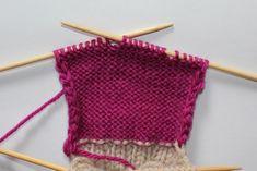 Hvordan strikke sokker / ull labber – Boerboelheidi Threading