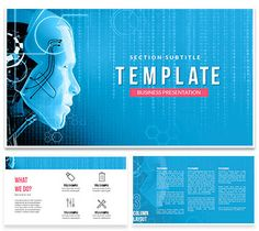 Artificial intelligence online powerpoint template pinterest machine intelligence powerpoint templates toneelgroepblik Gallery