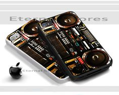 Boombox Ghetto Blaster,For iPhone 4/4s Black Case Cover | Eternalstores - Accessories on ArtFire