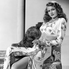 """""""Every man I have ever known has fallen in love with Gilda & awakened with me,"""" Rita Hayworth #quotes.   Catch GILDA ('46) tonight, Wednesday, June 3, or look for it on Watch TCM."""