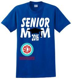 Senior Mom Shirt by ScrapCrazyDesigns on Etsy