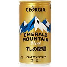 Georgia Coffee - Emerald Mountain Blend Low sugar - Japanese Candy, Snacks & More - Oyatsu Cafe Japanese Candy, Low Sugar, Coca Cola, Georgia, Emerald, Boss, Mountain, Snacks, Coffee